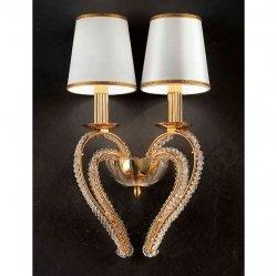 Бра Masiero Luxury Cristalry Gold/A2 Asfour crystal